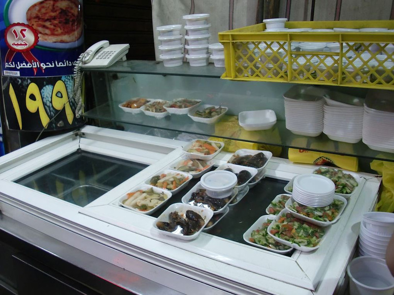 Food in Cairo.