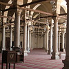 Inside of a mosque in Coptic Cairo.