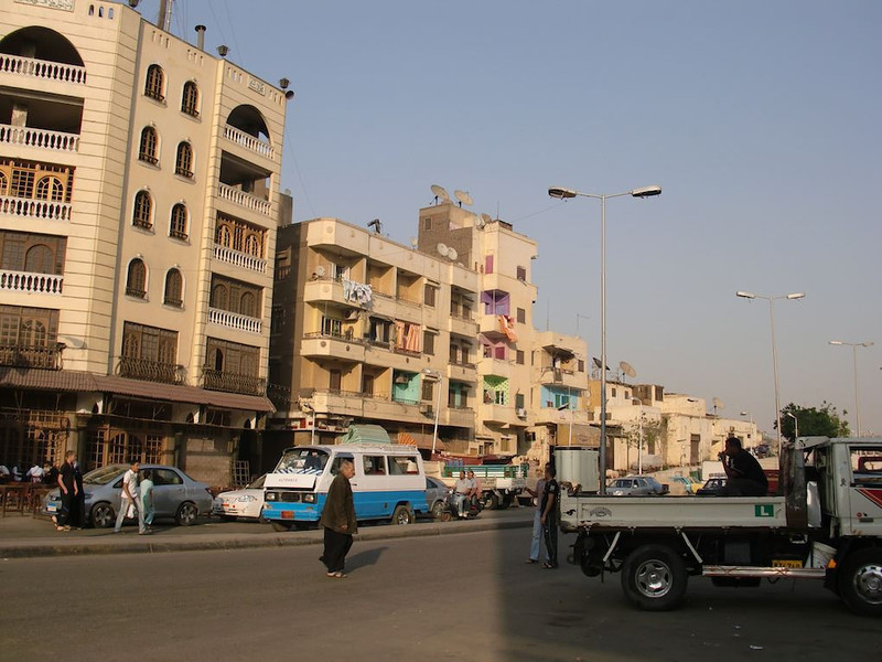 A street just outside of Islamic Cairo.