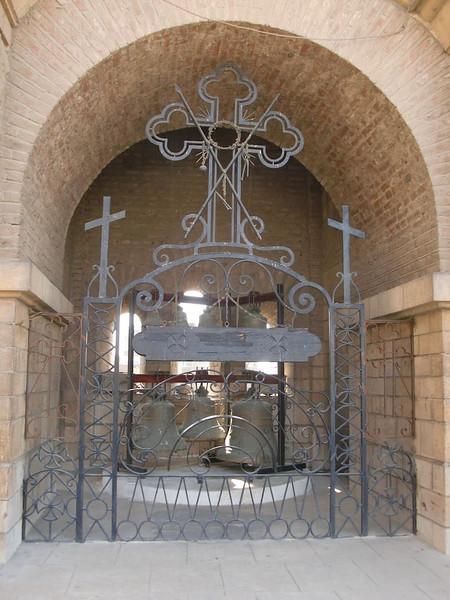 A cross in Coptic Cairo.