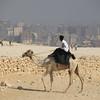 guard - Pyramids at Giza