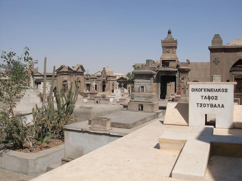 A cemetery in Coptic Cairo.