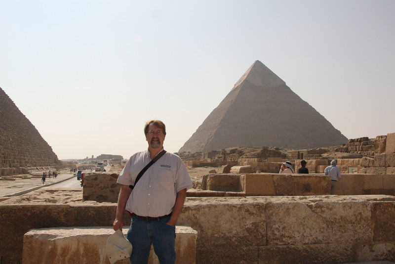 Chris - Great Pyramid at Giza