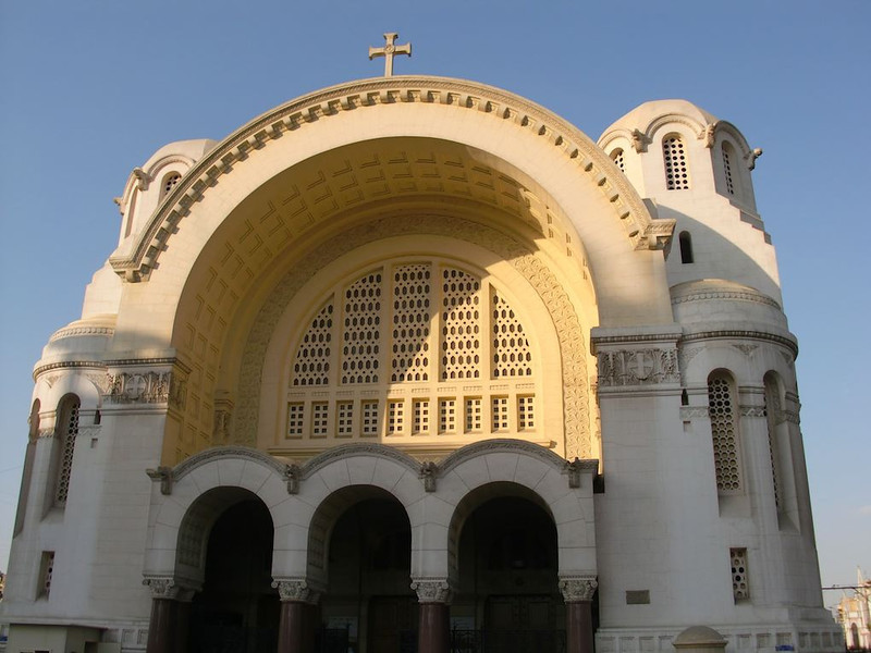 The church in Zamalek, Cairo.