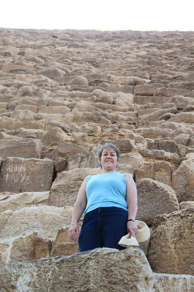 Joan - Great Pyramid at Giza