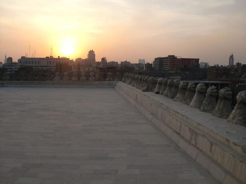 Sunset in Cairo.