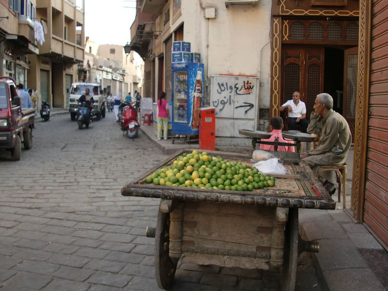 Limes for sale in Khan al-Khalili.