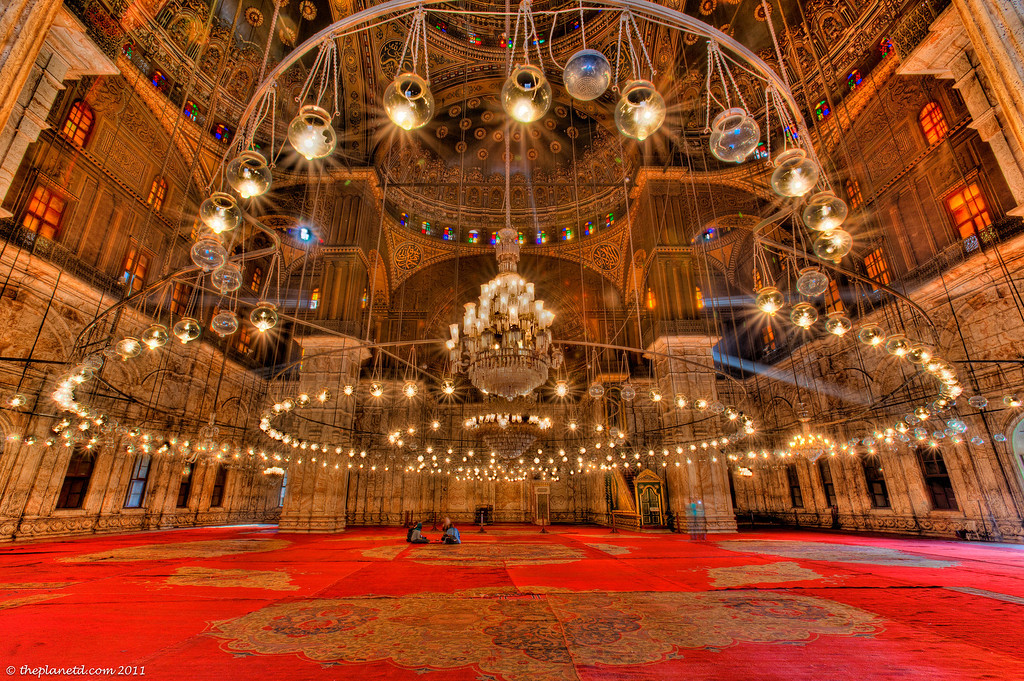 Egypt-Alabaster-mosque-cairo-inside