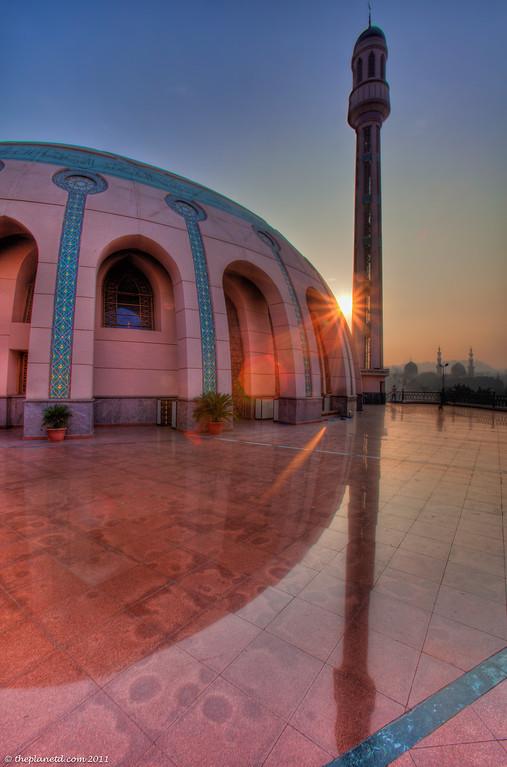 Egypt-cairo-mosque-sunrise