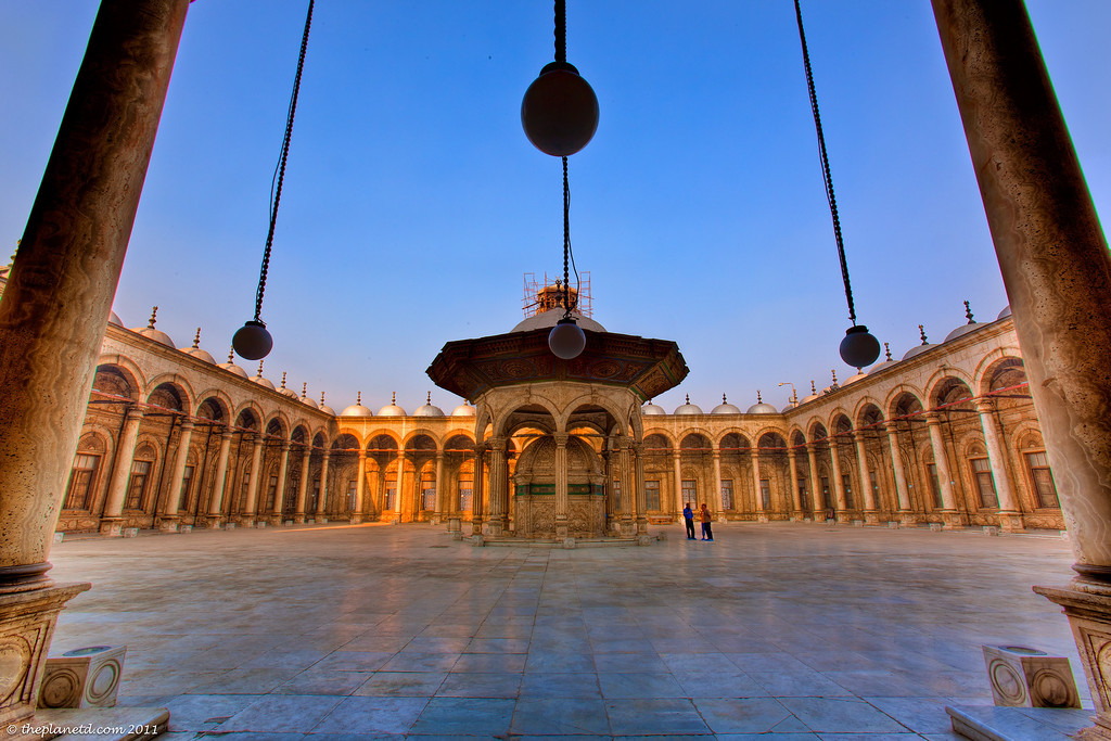 Egypt-Alabaster-Mosque-cairo-courtyard