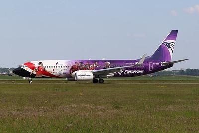 "SU-GEN Boeing 737-800 c/n 63806 Amsterdam/EHAM/AMS 21-05-18 ""World Cup 2018"""