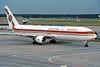 SU-GAO Boeing 767-366ER c/n 24541 Frankfurt/EDDF/FRA 10-07-96 (35mm slide)