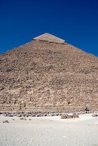 The Pyramid profile- Giza, Egypt