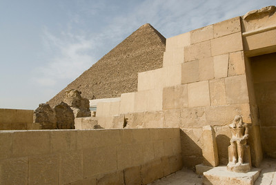 The Temple near the Great Pyramid - Giza, Egypt