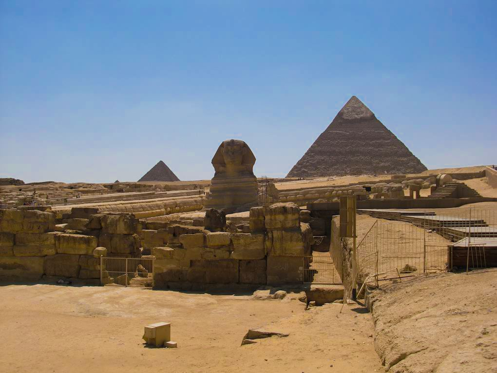 History Waits For History To Unfold: The Great Sphinx Of Giza, Egypt