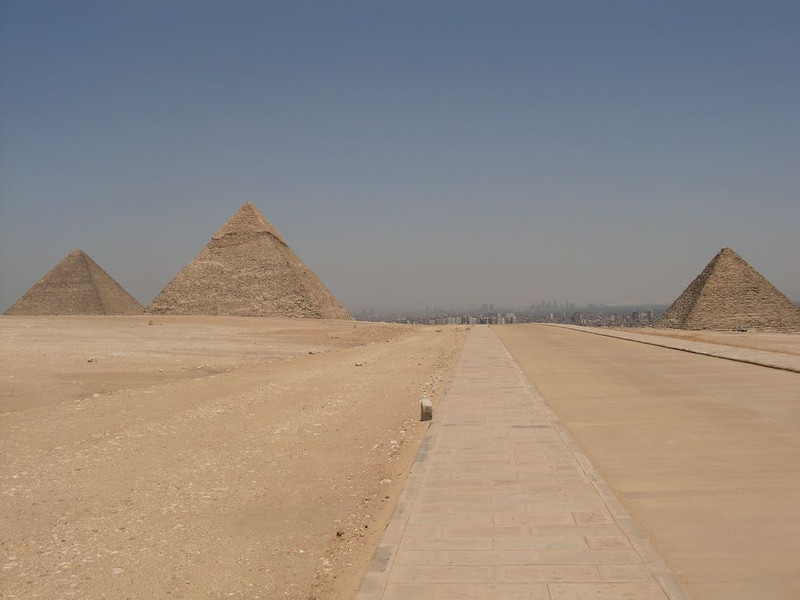 great pyramids giza egpyt