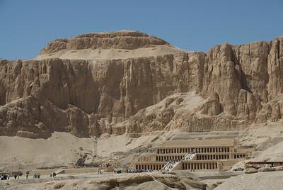 Hatshepsuts Temple in Luxor, Egypt
