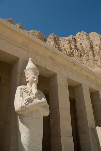 Phraros outside the Hatshepsuts Temple - Luxor, Egypt