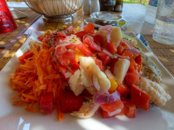 hurghada egypt food salad