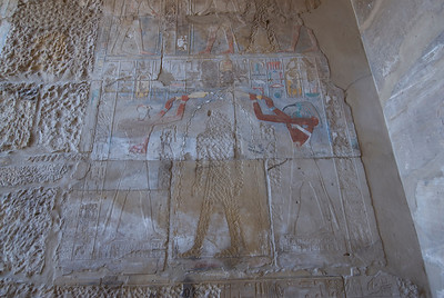 Herioglyph Wall at the Karnak Temple - Luxor, Egypt
