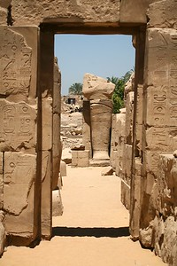Hypostyle hall of the Precinct of Amun-Re