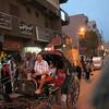 Neil on carriage ride to Edfu temple