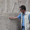 Hasham at Kom Ombo temple