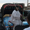 carriage ride to Edfu temple