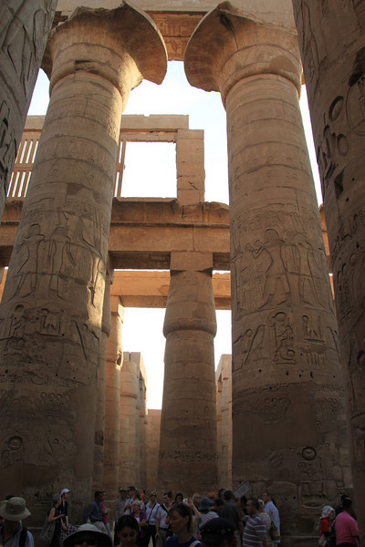 Temple of Amon Ra in Karnak