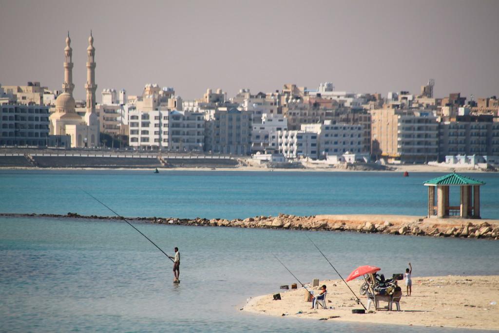 Fishermen - Marsa Matruh, Egypt - Photo