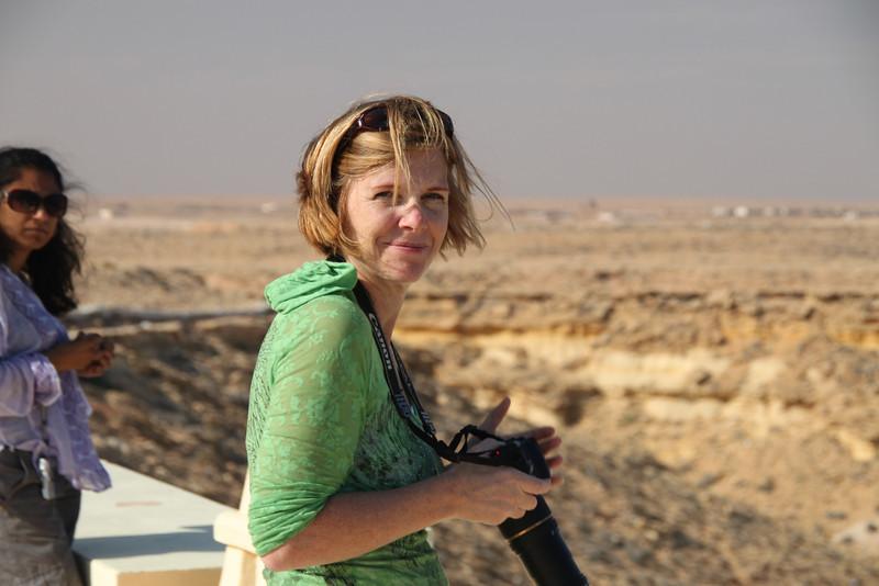 Carol at Agiba Beach