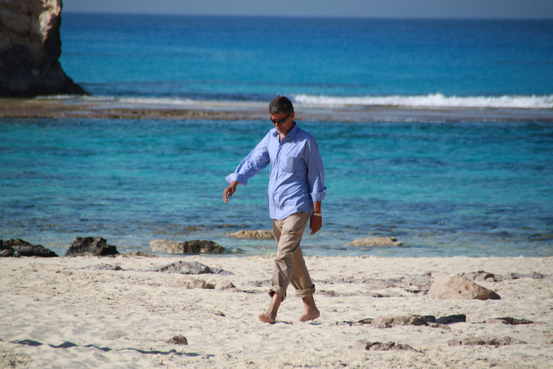 Hasham at Cleopatra's Beach