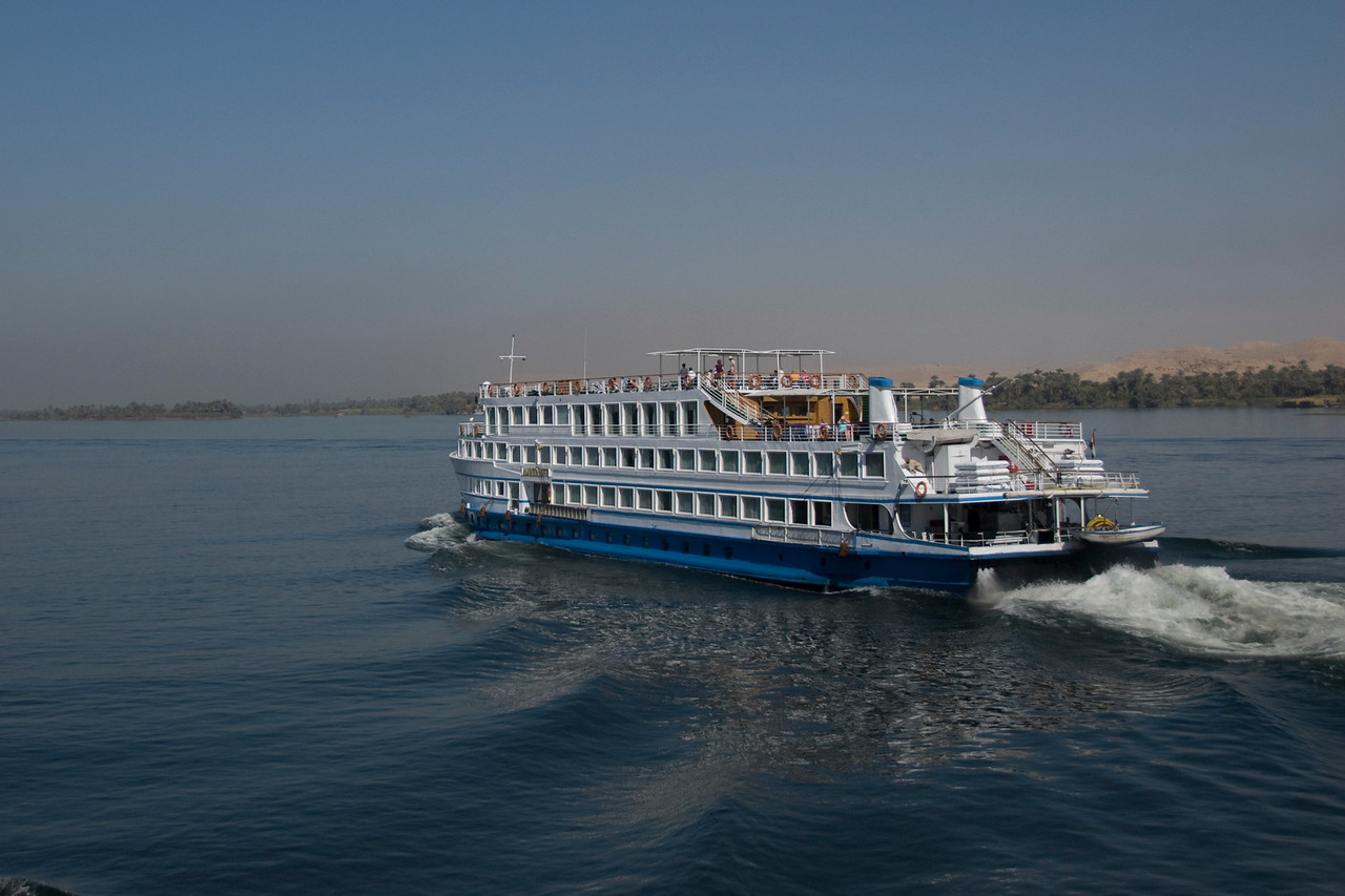 Cruise Boat along the Nile River - Nile, Egypt