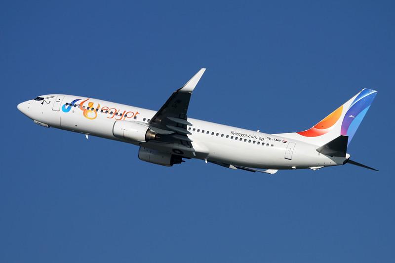 "SU-TMH Boeing 737-8GJ ""flyEgypt"" c/n 34903 Dusseldorf/EDDL/DUS 18-10-15"