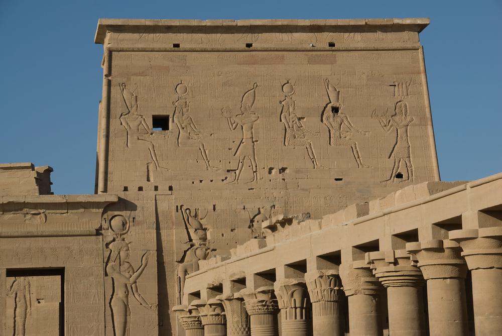 The Temple of Philae, Aswan, Egypt