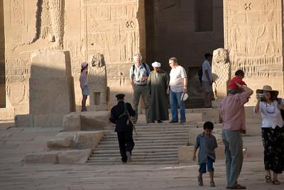 Tourist Cop - Philae Temple, Aswan, Egypt