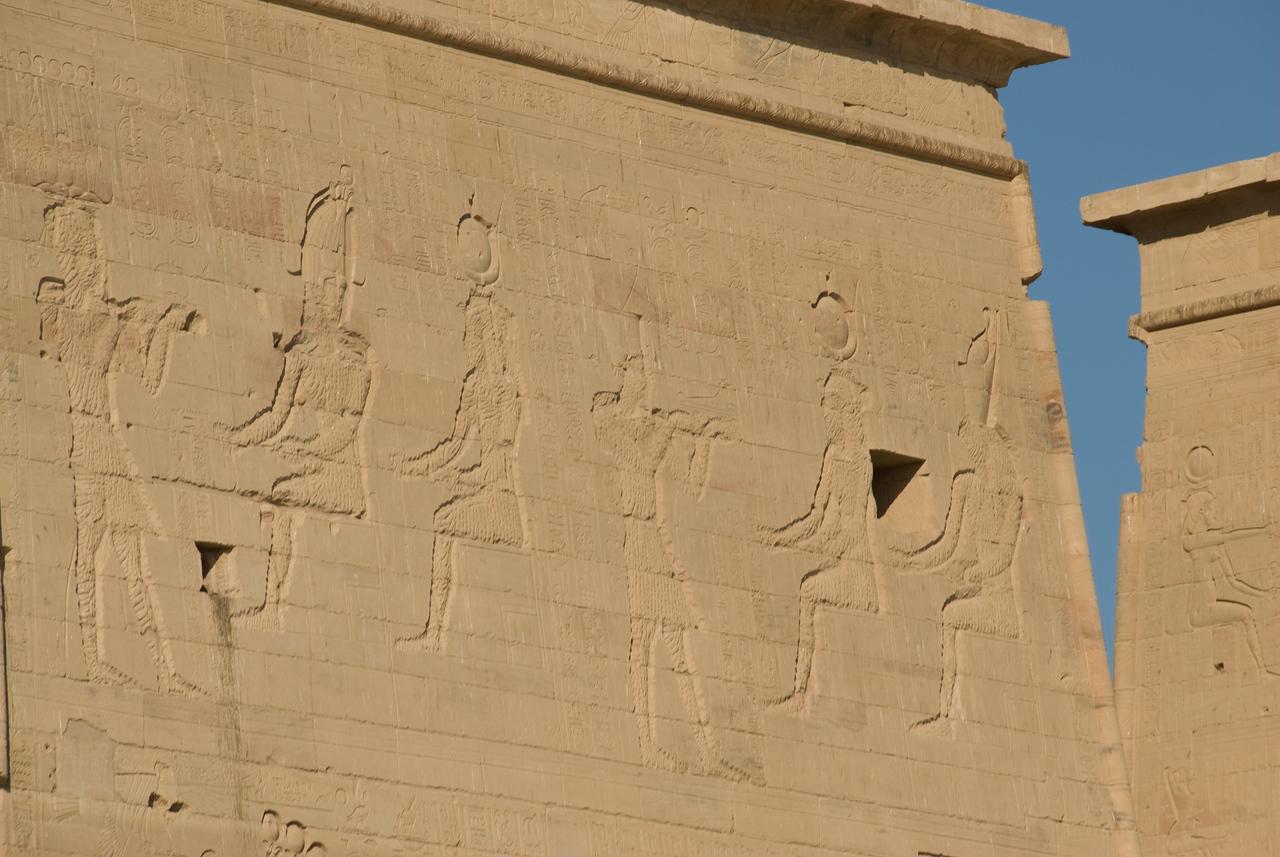 Exterior 8 - Philae Temple, Aswan, Egypt