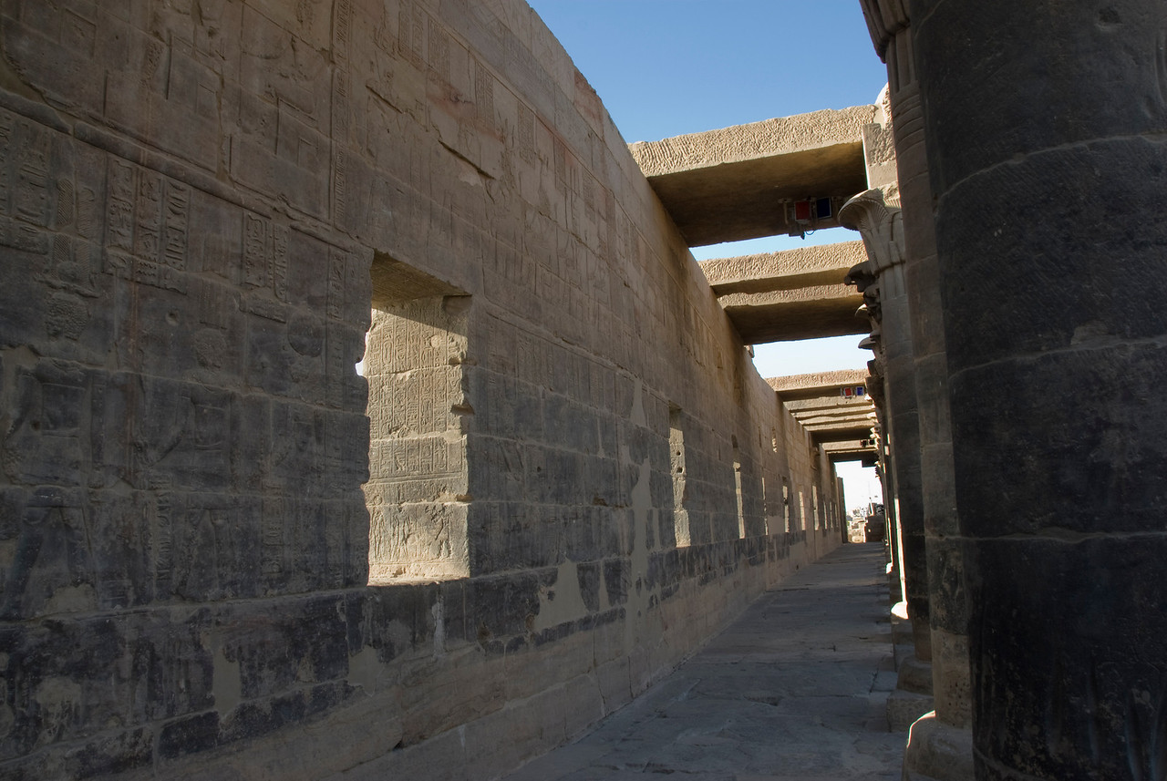 Pillars 5 - Philae Temple, Aswan, Egypt