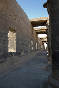 Pillars 6 - Philae Temple, Aswan, Egypt
