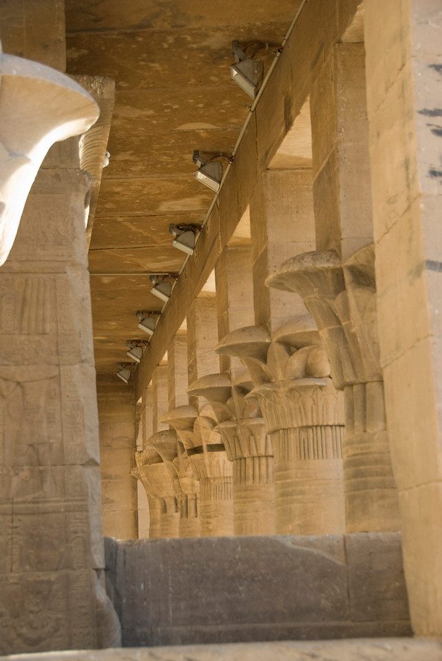 Pillars 8 - Philae Temple, Aswan, Egypt