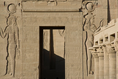Doorway - Philae Temple, Aswan, Egypt