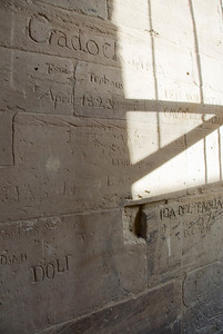 British Graffiti 1823 - Philae Temple, Aswan, Egypt
