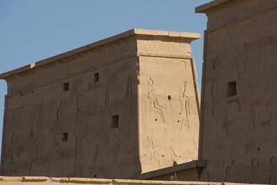 Exterior 2 - Philae Temple, Aswan, Egypt