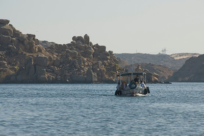 Boats 2 - Philae Temple, Aswan, Egypt