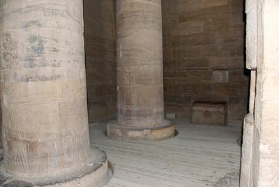 Coptic Altar - Philae Temple, Aswan, Egypt