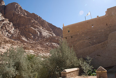 Monestary Walls 5 - St. Catherine's, Egypt
