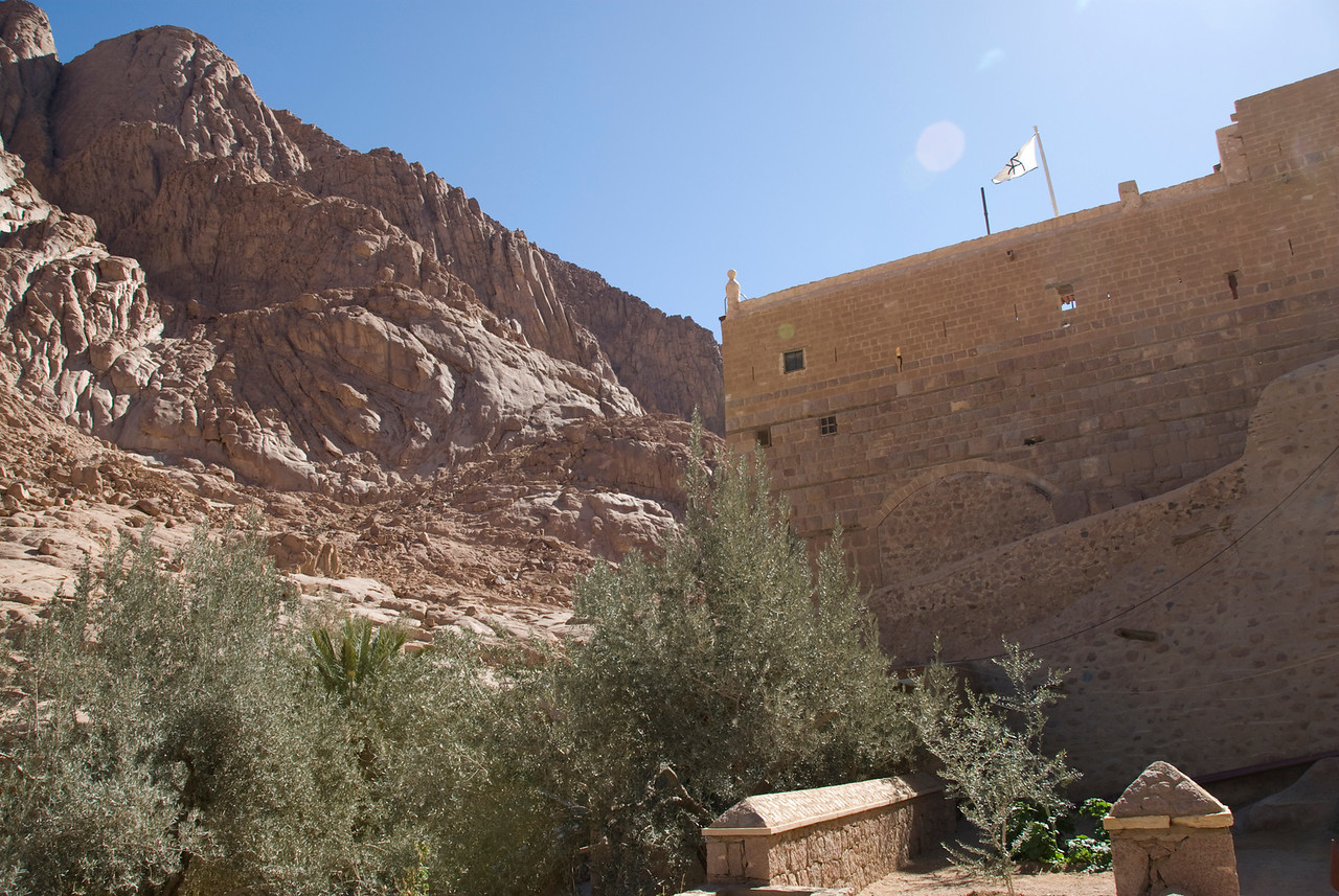 Monestary Walls 5 - St. Catherine's, Egypt