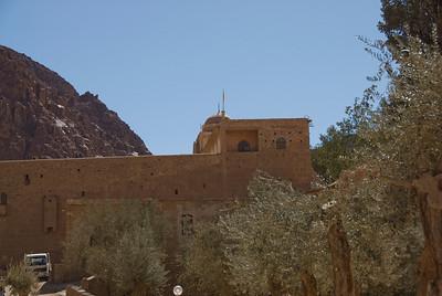 Monestary Walls 2 - St. Catherine's, Egypt