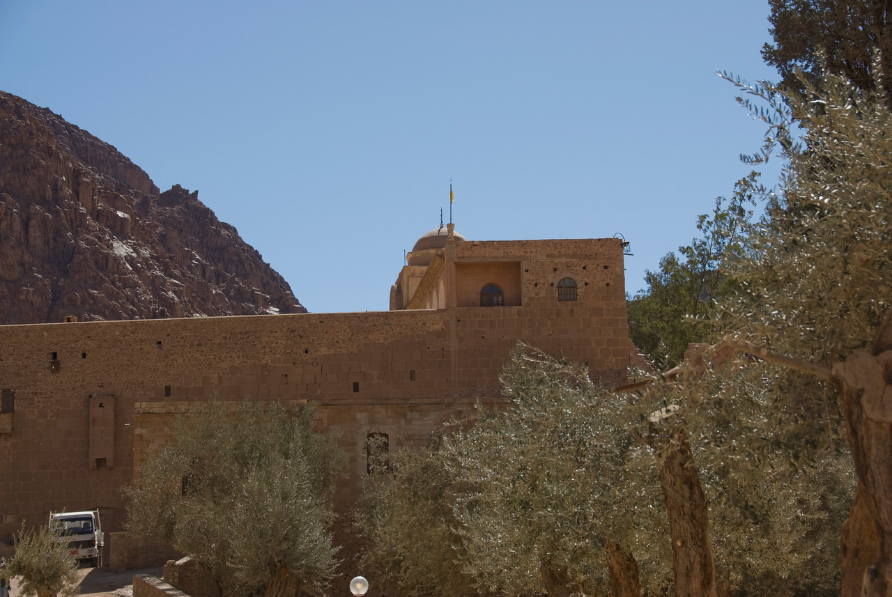 Monestary Walls 2 - St. Catherine's, Egypt