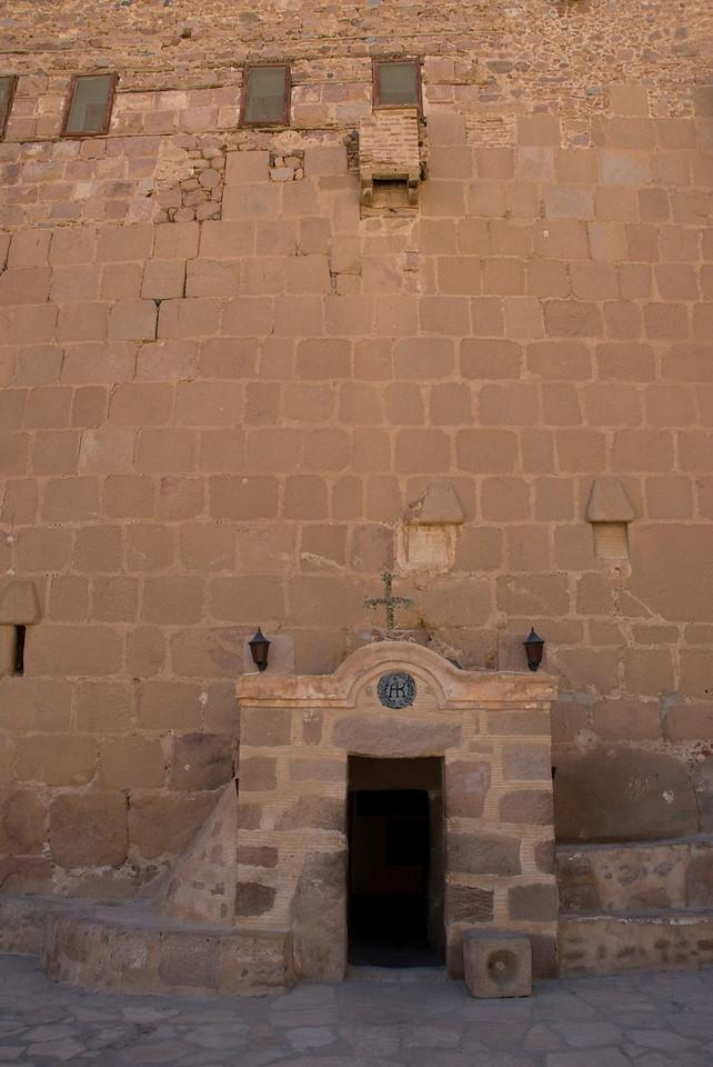 Monestary Entrance 2 - St. Catherine's, Egypt
